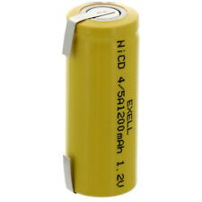 Exell 4/5A 1.2V 1200mAh NiCD Rechargeable Battery with Tabs FAST USA SHIP