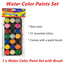 Water Color Paint Set Art Brush Craft Class Student Kids Children Draw Non Toxic