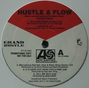 "HUSTLE & FLOW ""SOUNDTRACK"" 2005 2X VINYL LP ALBUM (AMENDED) COMPILATION *SEALED*"