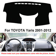 Dashmat Car Dashboard Mat Carpet Sun Shade Cover For TOYOTA Yaris 2001-2012 Year