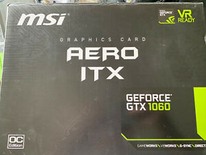 MSI Nvidia GeForce GTX 1060 AERO ITX OC 6GB GDDR5 video Graphics Card  #2
