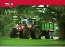 Valtra N Series Classic Hitech Advance  Tractor Brochure / Leaflet  6921F