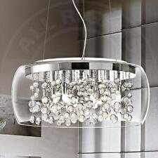 MIA A43N Glas Kugel Hänge Leuchte Ø400mm/ Design/ Chrom/ Pendel Lampe Höhenverst