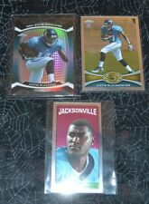 2012 TOPPS CHROME JUSTIN BLACKMON WR -  ROOKIE 3 CARD LOT