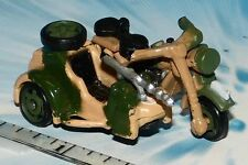 MICRO MACHINES MILITARY MOTORCYCLE BMW R75 w/Side Car # 5