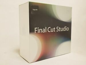 New Sealed Apple Final Cut Studio 3 HD Upgrade MB643Z/A