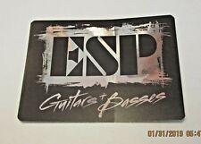 ESP GUITARS BASSES DECAL STICKER CASE RACK BUMPER STICKER NEW RARE COLLECTIBLE