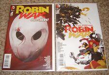 ROBIN WAR 1 2 NM 1st prints DC