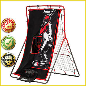 BASEBALL PITCHING EQUIPMENT NET Practice Rebounder Switch Hitter Throwing Screen