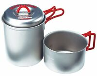 EVERNEW ECA278R Titanium Cooker Pot and Mug Set for One from Japan Person