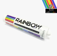 Rainbow Silicone Sealant 310ml Various Colours Indoor & Outdoor use Home DIY