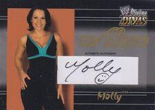 MOLLY HOLLY 2003 Fleer w/LOVE WWE AUTOGRAPH AUTO CARD #100/100 *ULTRA RARE*
