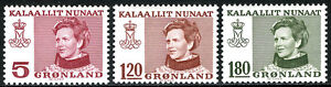 Greenland 86,93,97, MNH. Queen Margrethe, 1978