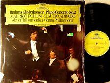 DGG 1977 Brahms MAURIZIO POLLINI Piano Concerto #2 ABBADO Shrink 2530 790