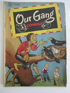 OUR GANG COMICS # 26, Sept. 1946, Golden Age Comic with Tom & Jerry etc.