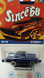 Hot Wheels 2008 since '68 top 40 '57 Chevy   (CP27)