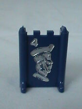 Stratego 1977 Blue Major #4 Replacement Board Game Piece