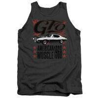 Pontiac GTO FLAMES Licensed Adult Tank Top All Sizes