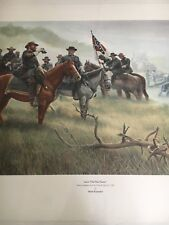 "Mort Kunstler ""Lee's Old War Horse "" Limited Edition Civil War Print S/N COA"