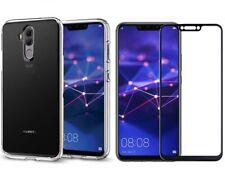 Pour Huawei Mate 20 Lite Case Clear Gel 360 & Full Protection d'écran verre