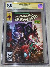AMAZING SPIDER-MAN 44 CGC SS 9.8 PHILIP TAN SIGNED MCFARLANE 316 KINDRED VARIANT