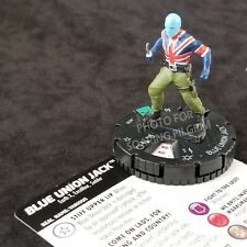 BLUE UNION JACK - 028 Uncommon EARTH X Heroclix #28