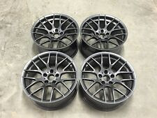 "19"" Avant Garde M359 Alloy Wheels GUN METAL Concave E60 E61 E62 BMW 5 / 6 Series"