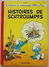 Schtroumpfs 8è Série Histoires de Schtroumpfs PEYO éd Dupuis 1973 2è éd