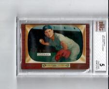 1955 Bowman # 99 Jerry Coleman New York Yankees - Graded BVG 5 - Excellent
