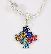Autism necklace  Autism Gift chain  Autism Pendant necklace Best Autism gift