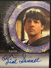 Tim Guinee as Tomin STARGATE SG1 Heroes Autograph Auto Card A99