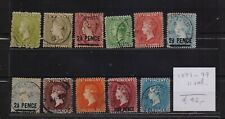 !  St Vincent 1871-1899.  Lot Of 11  Stamp. YT#. €42.00 !