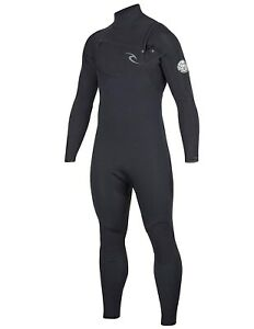 RIP CURL Men's 4/3 DAWN PATROL CZ Wetsuit  BLK  Large Short NWT - LAST ONE LEFT