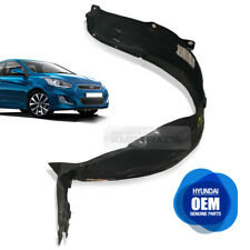 OEM Genuine Parts Front Fender Liner Guard LH for HYUNDAI 2011-2019 Accent Verna