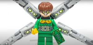 Lego Dr. Octopus 76148 Doc-OckMinifigure NEW! With Arms - Minifig# SH616