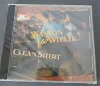 Clean Shirt by Willie Nelson/Waylon Jennings Music CD Country Sony Records 1991