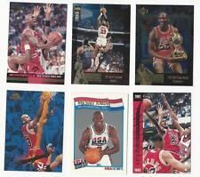 6 MICHAEL JORDAN CARDS #SC51