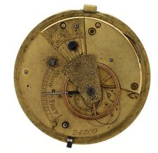 IMPROVED PATENT ENGLISH FUSEE LEVER POCKET WATCH MOVEMENT SOARES OR REPAIRS VV71