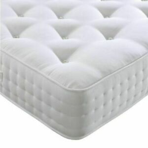 Tufted Memory Foam Mattress Luxury Sprung Mattress 3ft Single 4ft6 Double 5ft