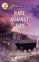 Race Against Time (Love Inspired Suspense) by Barritt, Christy Book The Fast