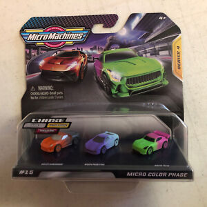 Micro Machines Series 4 Color Phase Set #15