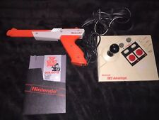 Nintendo Nes Lightgun, Golgo 13, & Advantage Joystick *Work*