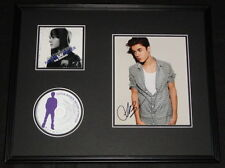 Justin Bieber Signed Framed 16x20 Never Say Never CD & Photo Display AW