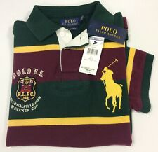 Polo Ralph Lauren Bleecker Cup Big Pony Mens Short Sleeve Polo-Shirt Slim Small