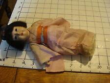 Original Vintage Chinese doll: in Pink Komono, light wear only