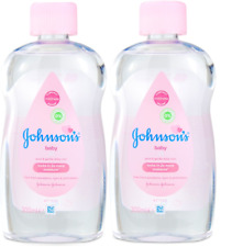 PACK OF 2 Johnsons Baby Oil Gentle Daily Care 200ml