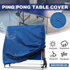 Blue Pin g Pong Table Storage Cover Indoor/Outdoor Waterproof Table Tennis Cover