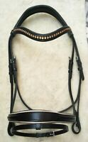 Comfort Crown Crank Cavesson Dressage BRIDLE
