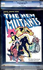 MARVEL GRAPHIC NOVEL #4 CGC 9.8 WP  1ST APPEARANCE OF THE NEW MUTANTS