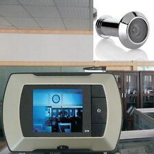 "2.4"" LCD Visual Monitor Door Peephole Peep Hole Wireless Viewer Camera Video USA"